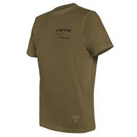 T Shirt Dainese Adventure Long Oliva
