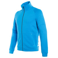 Dainese Full Zip Sweatshirt Blue Perfomance