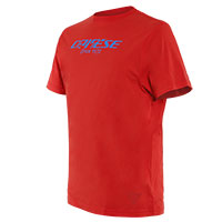 Dainese Paddock Long T Shirt Red