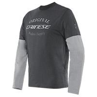 Dainese Paddock T Shirt Ls Grey