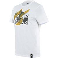 T Shirt Dainese Sheene Bianco
