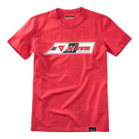 Dainese Speed-leather T-shirt Rosso