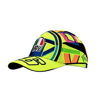 Cappello Dainese Helmet Replica Vr46 Giallo