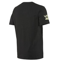 Dainese Vr46 Pit Lane T-shirt Black