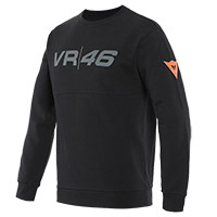 Dainese Vr46 Team Sweatshirt Black Yellow