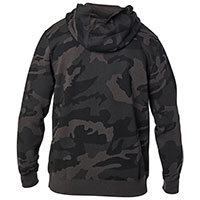 Felpa Fox Apex Camo Zip Nero