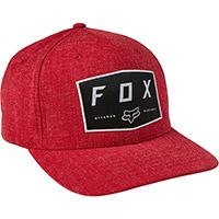 Fox Badge Flexfit Hat Chili