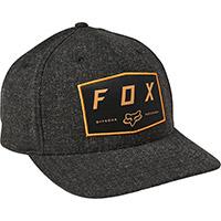 Fox Badge Flexfit Hat Nero