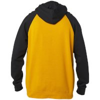 Sweat Capuche Fox Crest Jaune