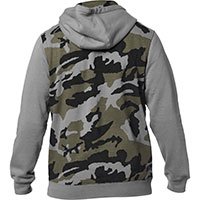 Fox Destrakt Camo Zip Fleece Gray