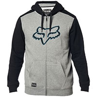 Fox Destrakt Zip Fleece Gray Black