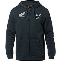 Sweatshirt Fox Honda Zip Bleu Navy