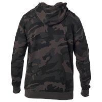 Sweat Capuche Fox Legacy Noir Camouflage