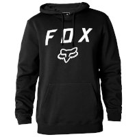 Felpa Con Cerniera Fox Legacy Nero Bianco