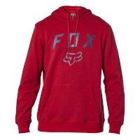 Felpa Con Cerniera Fox Legacy Rosso