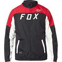Fox Moth Windbreaker Black Red