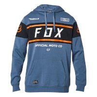 Sweat Capuche Fox Officiel Blue Steel