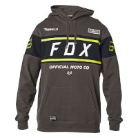 Sweat Capuche Fox Officiel Smoke