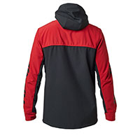 Fox Pit Fleece Cardinal Red