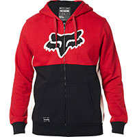 Fox Rebound Sherpa Fleece Black Red