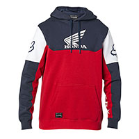Fox Honda Pullover Fleece Navy Red