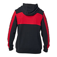 Polaire Fox Honda Zip 2021 Noir Rouge