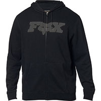 Fox Legacy Fheadx Zip Fleece Black Grey