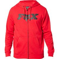 Fox Legacy Fheadx Zip Fleece Red