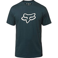 Fox Legacy Head Ss T-shirt Bleu