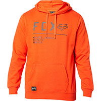 Sweatshirt Fox Non Stop Pullover Orange
