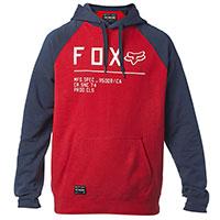 Fox Non Stop Raglan Pullover Fleece Chili Red