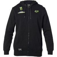 Sweat Capuche Fox Pro Circuit Zip Noir