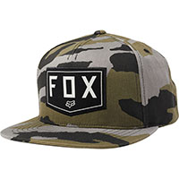 Fox Shield Snapback Hat Camo