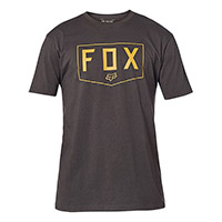 Fox Shield Ss Premium Tee Black Gold