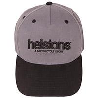 Chapeau Helstons Corporate Noir Gris
