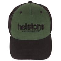 Chapeau Helstons Corporate Noir Vert