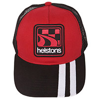 Helstons Shelby Cap Red White