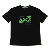 Ixon Crowd T-shirt Black Green Fluo