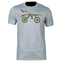 T Shirt Klim Ar Bike T Grigio Chiaro