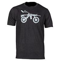 T Shirt Klim Ar Bike T Nero Grigio