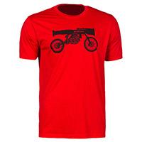 T Shirt Klim Bazooka Bike T Rosso