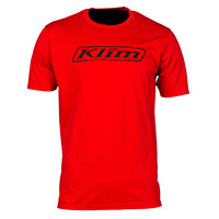 T Shirt Klim Don't Follow Moto Rosso