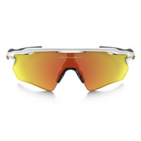 Oakley Radar Ev Path Polished White Lens Fire Iridium