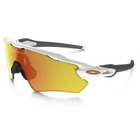 Oakley Radar Ev Path Polished White Lente Fire Iridium