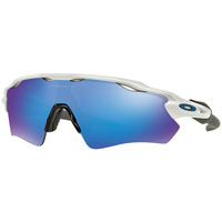 Oakley Radar Ev Path Polished White Lente Sapphire Iridium