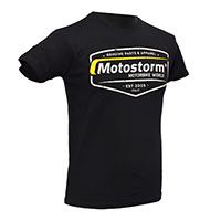 T-shirt Motostorm Vintage Logo Black