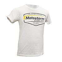 TシャツMotostormヴィンテージロゴホワイト
