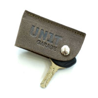Unit Garage Keychain Garage Unit Black