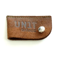 Unit Garage Keychain Garage Unit Brown