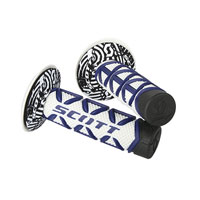 Scott Grips Diamond Blue/white